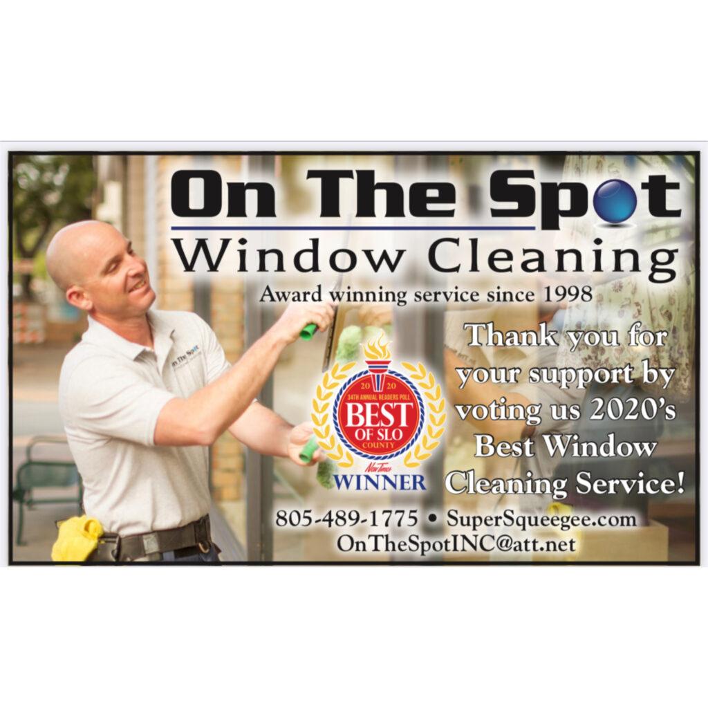 Professional Window Cleaning: Best Of San Luis Obispo County Winner 2020